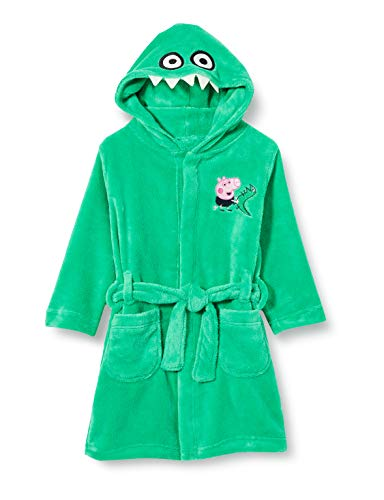 NAME IT Jungen Peppa Wutz Bademantel NMMPEPPAPIG Timo Bathrobe, Größe:116, Farbe:Bistro Green