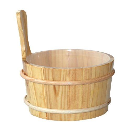 Sauna-Kübel 4,0 l aus Kiefernholz