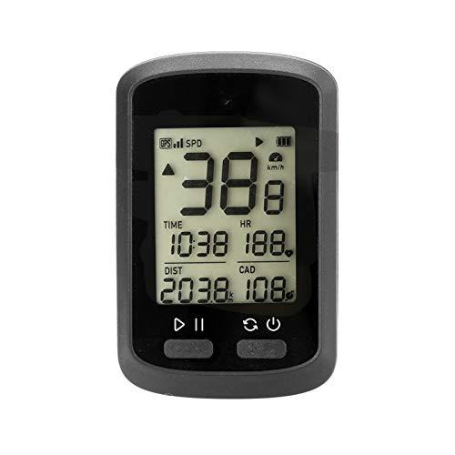 Belleashy - Contador de bicicleta GPS inalámbrico G + para ciclismo y fitness al aire libre