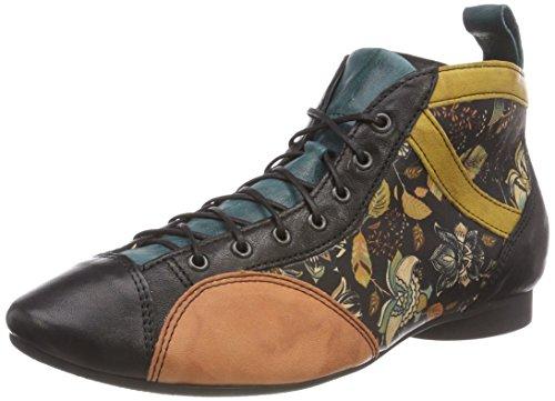 Think! Damen Guad_383288 Desert Boots, Mehrfarbig (11 Kurkuma/Kombi), 36.5 EU
