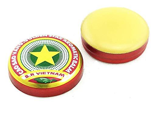 4 gr Golden Star Balsam - Cao Sao Vang - Golden Star Balm