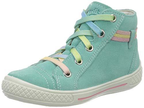 Superfit Mädchen Tensy Hohe Sneaker, Grün (Hellgrün 75), 32 EU