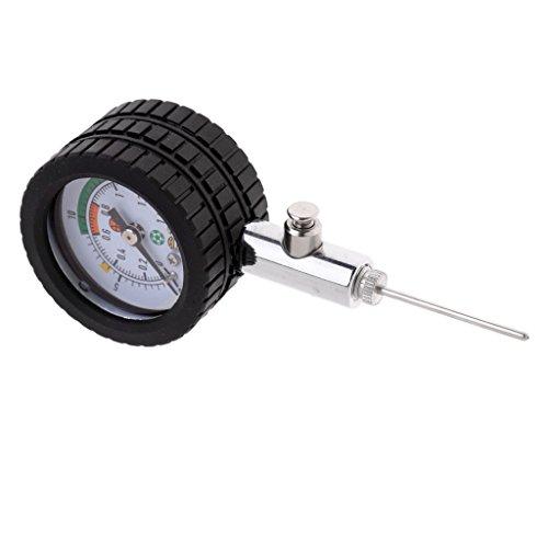 Pressure Gauge Balldruckmesser Luftdruckmesser für Fußball, Basketball und Volleyball