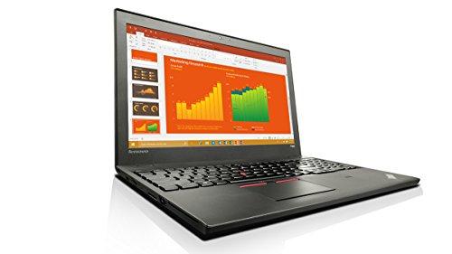 Lenovo ThinkPad T560 (15.6 inch) Notebook Core i7 (6600U) 2.6GHz 8GB 256GB SSD Webcam Windows 10 Pro (64-bit) - (Integrated HD Graphics 520)