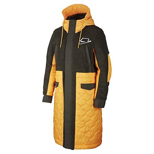 Nike Sportswear Sport Pack Synthetic Fill Men's Parka (Kumquat/Sequoia, Large)