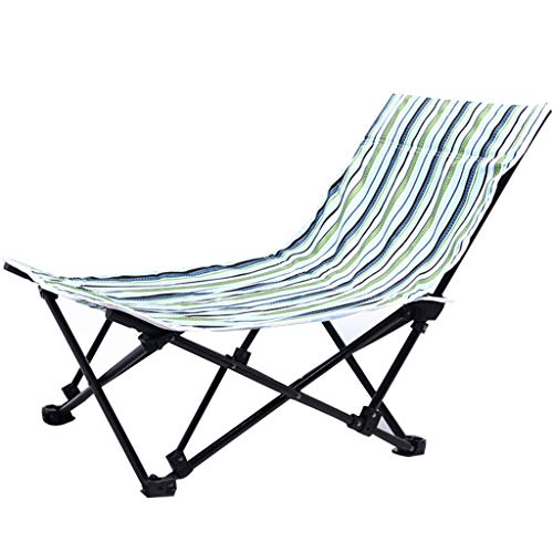 Silla de jardín reclinable Sling Deck Silla reclinable Tumbonas Tumbona Ajustable Sillas de Gravedad Cero Plegable Oxford Tela para Acampar al Aire Libre Peso de rodamiento 120 KG
