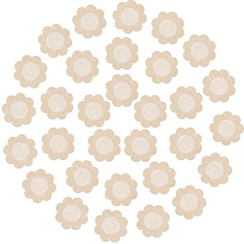 Geyoga 80 Paia Copricapezzoli da Donna Monouso a Forma di Fiori