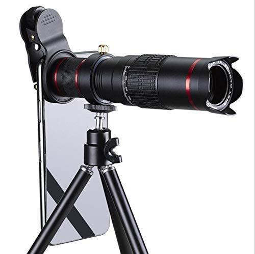 J-Love Binoculares HD 8X32 Luz débil Visión Nocturna Telescopio observación Aves Transparente para Juegos Deportivos y conciertos al Aire Libre