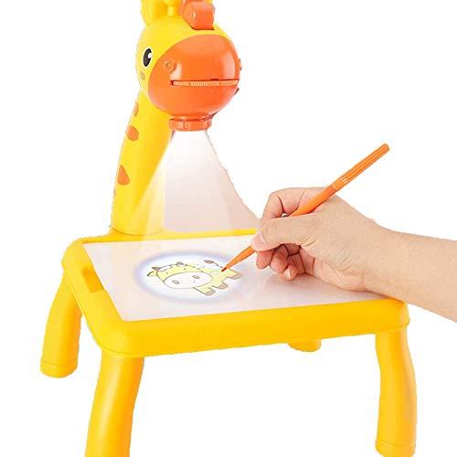HHYSPA Kids Smart Projector Drawing Desk, Detachable Educational Toys...