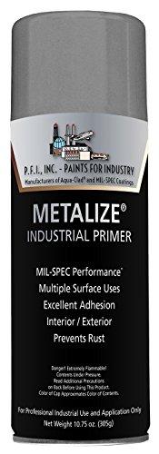 Metalize Flat Gray Industrial Primer Aerosol - 10.75...