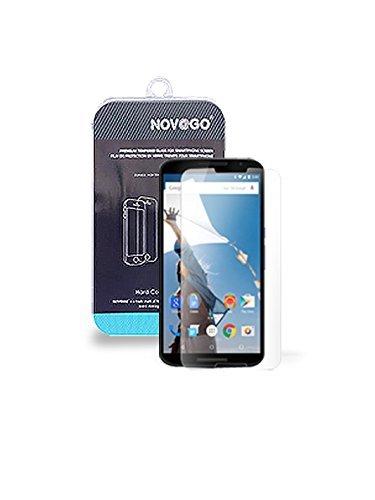 NOVAGO - Protector de Pantalla de Cristal Templado para Google Nexus 6...