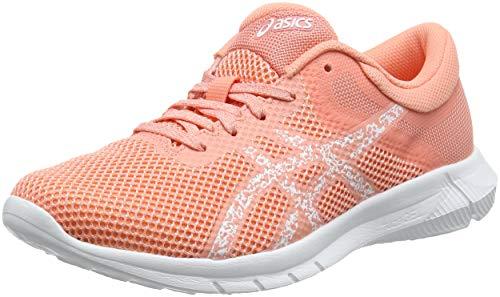 Asics Nitrofuze 2, Zapatillas de Running para Mujer, Multicolor (Begonia Pinkwhitewhite), 36 EU