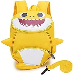 Kids Toddler Backpack 3D Cute Cartoon Small Shark Backpack Kindergarten Leash Bookbag for Boys Girls 1-6 Years Old