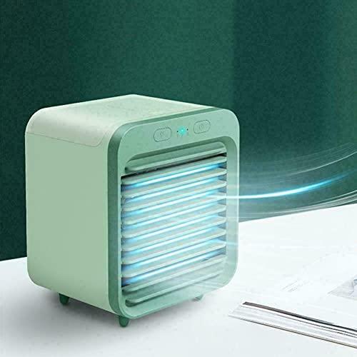 2021 portátil USB mini refrigerado por agua 3 velocidades frescas aire acondicionado AC ventiladores se pueden utilizar al aire libre recargable