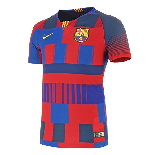 Nike Youth Barcelona 20th Anniversary Jersey 2019-20 (YL) Red/Blue