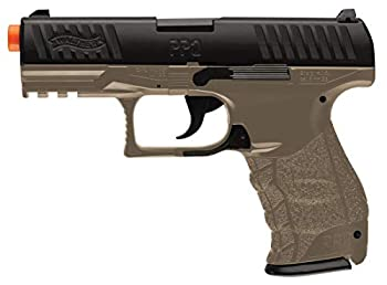 Walther PPQ 6mm BB Pistol Airsoft Gun Dark Earth Brown