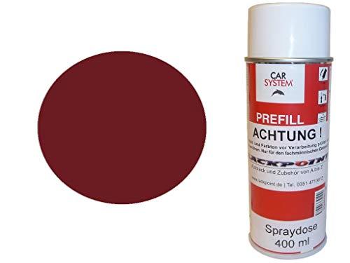Lackpoint Spraydose 400ml 1 Komponenten Autolack RAL 3004 Purpurrot Matt