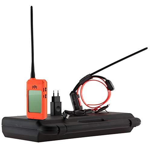 DOGtrace Système de repérage GPS pour Chien sans abonnement X20 Orange Fluo