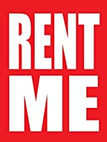 Rent Me Store Business Retail Sale Display Signs 18x24 Full Color 5 Pack [並行輸入品]