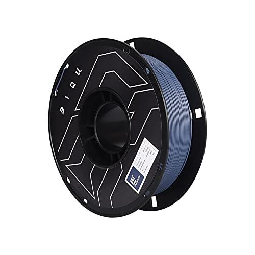 Huhu 2 Rollos PLA Filamento de Impresora 3D Mate 1.7 5mm PLA Filamento 1kg vs petg Ajuste for la Pluma 3D Ender 3 Pro v2 anycubic FDM 3D Impresora (Color : 2 Rolls Navy Blue)