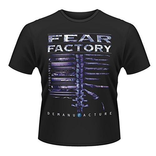 Plastic Head Fear Factory Demanfacture Tsfb, Maglietta da Uomo, Nero, Large