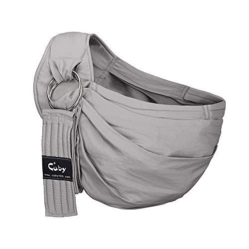 Kangaroo Baby Baby Sling Wrap Carrier nouveau-nés, les transporteurs de l'enfant parfait pour un parent (Gris)