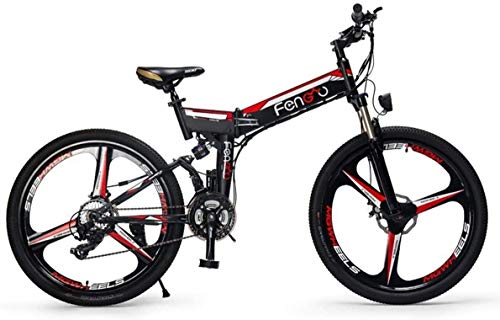 Why Choose Xiaochongshan Magnesium Alloy 26 Mountain Bike, Folding Bicycle with 8 Gear Speed Contro...