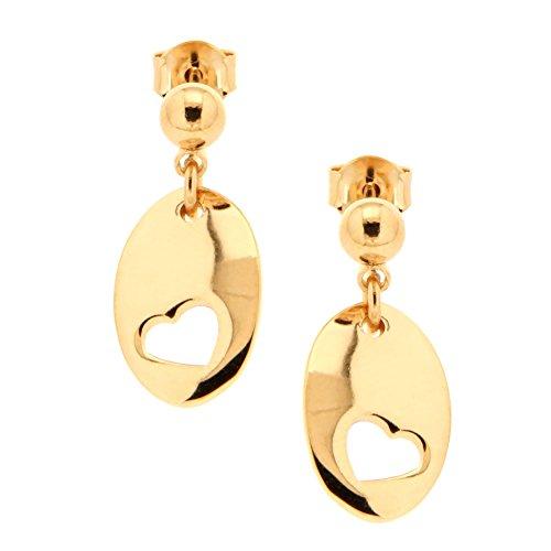 Bijoux pour tous 1200505 - Pendientes para mujer (latón)