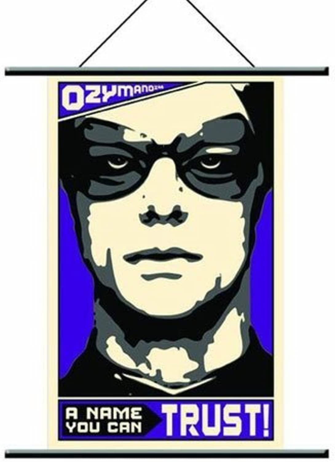 Watchmen Wallscroll Ozymandias Pop Art
