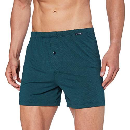 Skiny Herren Boxer Shorts Boxershorts, Midnight Mosaic, XL