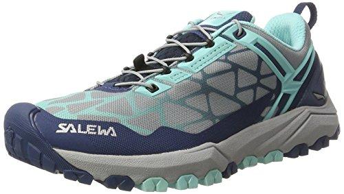 Salewa WS Multi Track, Chaussures Multisport Outdoor Femme, Bleu (Dark Denim/Aruba Blue 8670), 38.5 EU