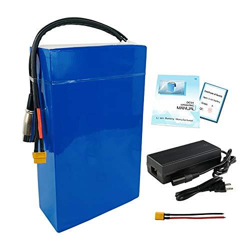 Paquete de batería de Iones de Litio de batería de Bicicleta eléctrica de 72v 25Ah / 30Ah Adecuado para Motores de 750W-3000W Ebike Battery. (72V 25Ah BMS60A)
