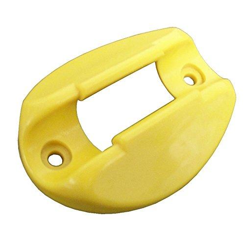 Dock Edge + Shore Power Clip Marine Power Cord Holder, Yellow, (4 Pack), Dock Edge Line Holder