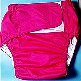 La taza menstrual es super suave y flexible 1 PC Adulto Urinario Incontinencia Paño Pañal Lavable Pañuelo Pañal Reutilizable Pañal el mejor (Color : Rose Red)