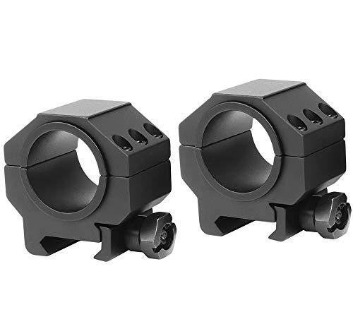 "SWFA SS-Tac 30mm / 1"" Rings"