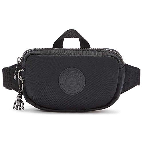 Kipling Women's ALYS Belt Bag, Rich Black (Black), S