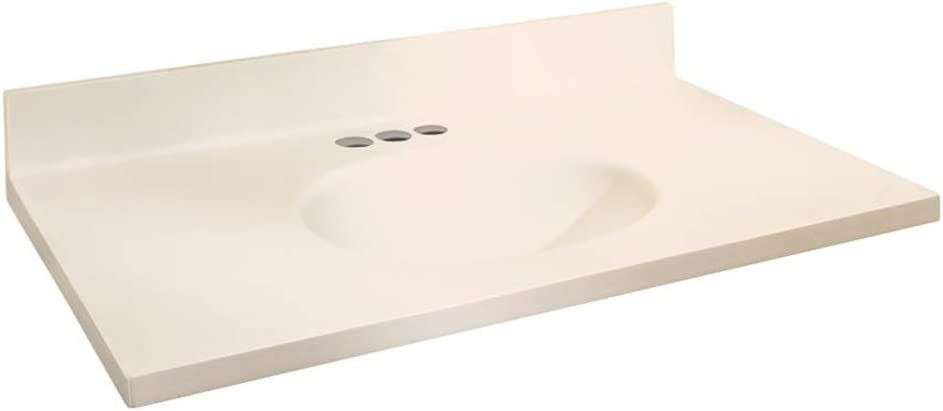 Samson ITB6122-02-4 Solid Surface Super special price 61x22 Direct store Top Chelsea with Vanity