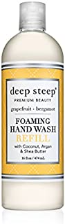 Deep Steep Foaming Hand Wash Refill, Grapefruit Bergamot, 16 Ounce
