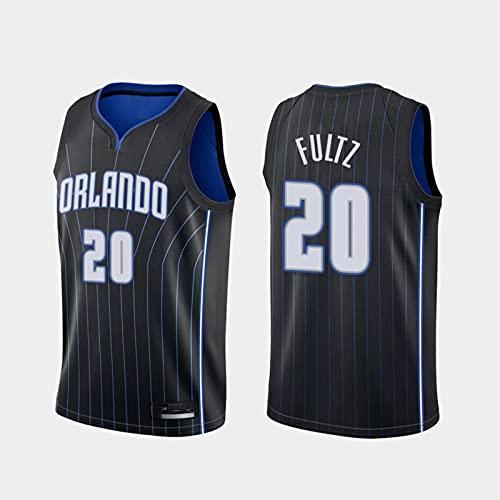 TGSCX Jerseys de Baloncesto para Hombre NBA Orlando Magic 20# Markelle Fultz Classic Jersey Unisex Chalecos Casuales Deportes Tops sin Mangas Camisetas sin Mangas,XL
