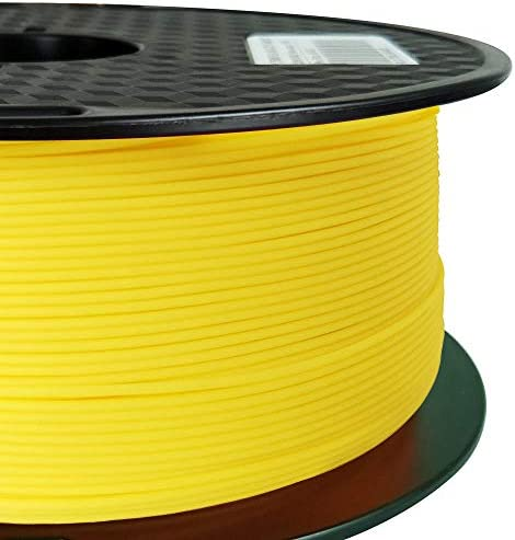CC3D PLA Max Yellow PLA Filament 1 75mm 1KG 3D Printer Filament 2 2LBS Spool 3D Printing Material product image