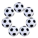 FOMIYES 6 Piezas de Balones de Fútbol de Mesa de Repuesto Mini Y de Mesa de Fútbol Pelotas de Mesa de Juego de Mesa Juguetes 32Mm