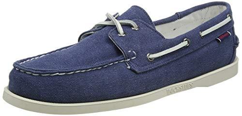 Sebago Portland Zen Canvas, Men's 7002TY0 Boat Shoes (Blue True 832) 7 UK Uomo, 41 EU