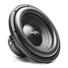 """12-Inch Dual 2-ohm Car Subwoofer Peak Power: 1,200 Watts 