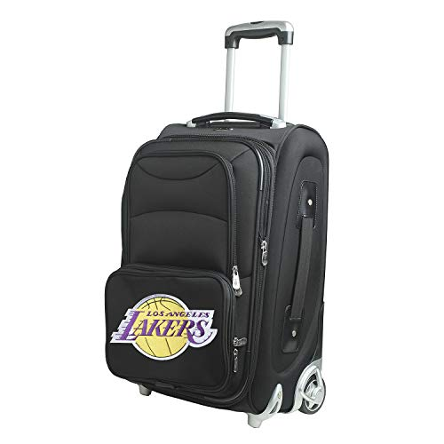 Denco NBA Los Angeles Lakers 21-inch Carry-On Luggage