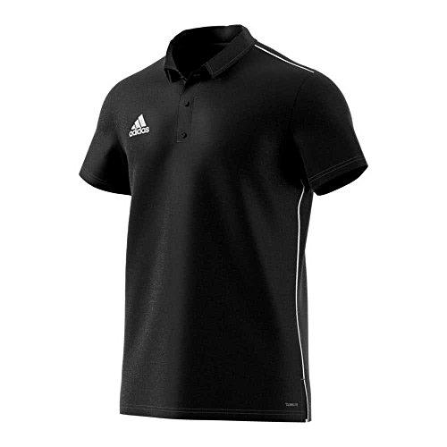 adidas CORE18 Camiseta Polo, Hombre, Black/White, 3XL