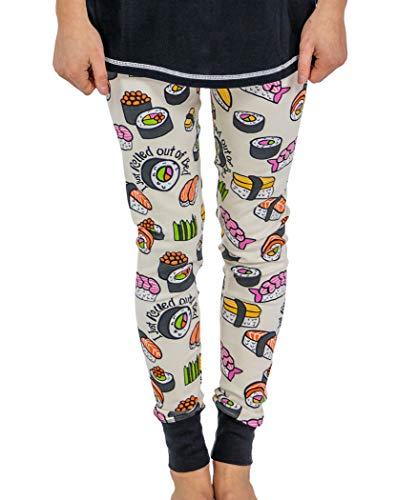 LazyOne Womens Sushi - PJ Leggings Adult M