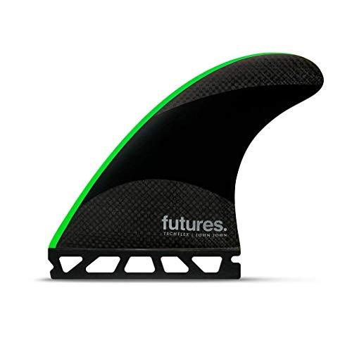 Futuros John John Techflex propulsor Negro/Verde Neón Medium