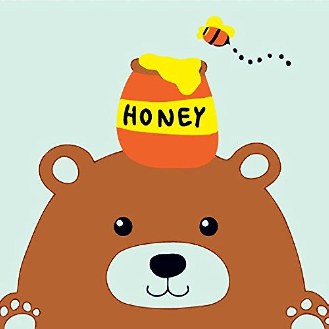 Dorara DIY Oil Painting, Paint By Number Kits for Kids Honey Bear 8