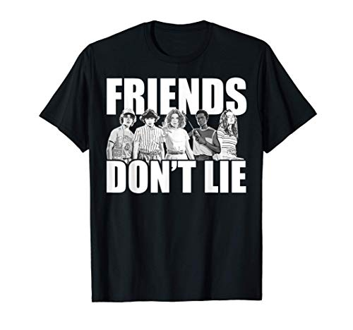 Netflix Stranger Things Friends Don't Lie Group Shot Camiset