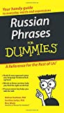 Russian Phrases For Dummies (For Dummies Series) - Andrew Kaufman